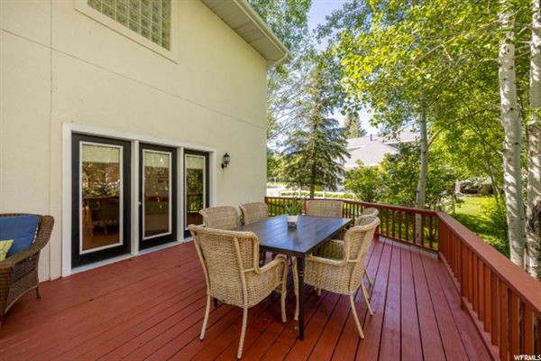 Luxury properties Magnificent Outdoor Living Mountain Home with Tranquil Seasonal Stream