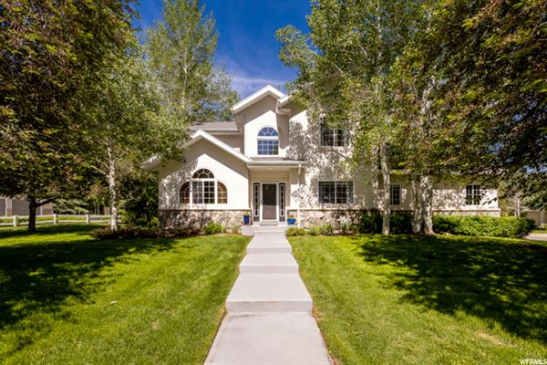 Luxury homes Magnificent Outdoor Living Mountain Home with Tranquil Seasonal Stream