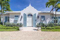 Luxury homes in sensational bermuda style house in palm beach