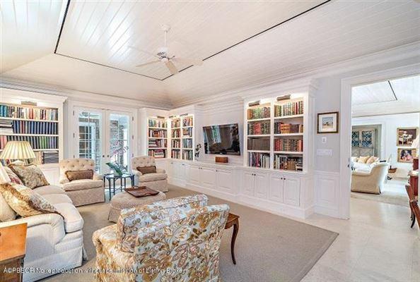 Bermuda style home on Everglades Island  luxury real estate