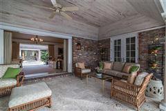 Bermuda style home on Everglades Island  luxury homes