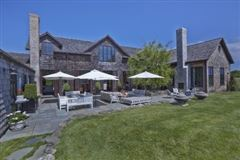 Luxury real estate Sagaponack home on spectacular grounds
