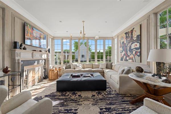 Luxury real estate brand new construction in bridgehampton