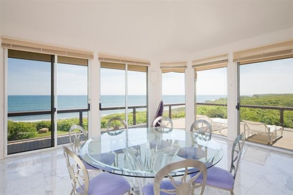 Extraordinary oceanfront property in Montauk luxury real estate