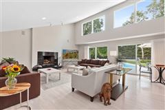 pristine Post Modern home situated in a lovely cul-de-sac luxury properties