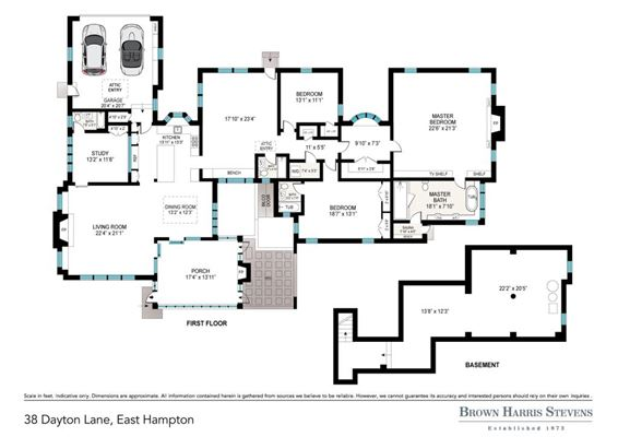 quality home in East Hampton Village mansions