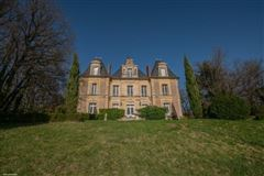 Luxury homes in Château Napoleon III style fully restored
