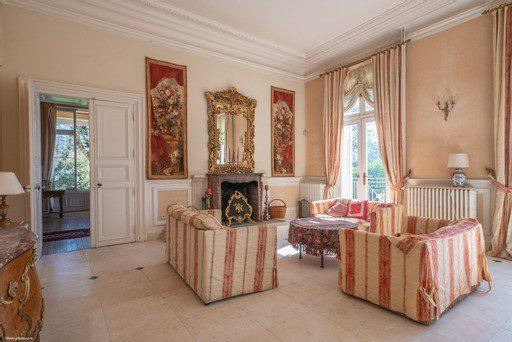 Luxury homes Château Napoleon III style fully restored