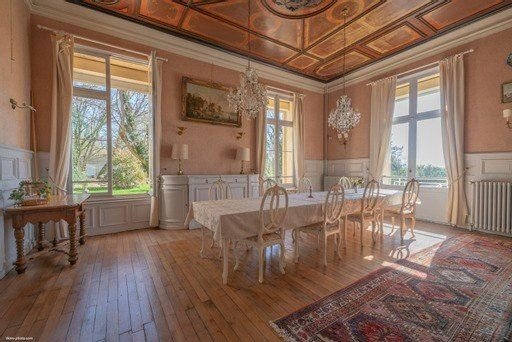 Luxury real estate Château Napoleon III style fully restored