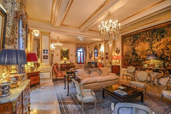 Luxury real estate stately chateau