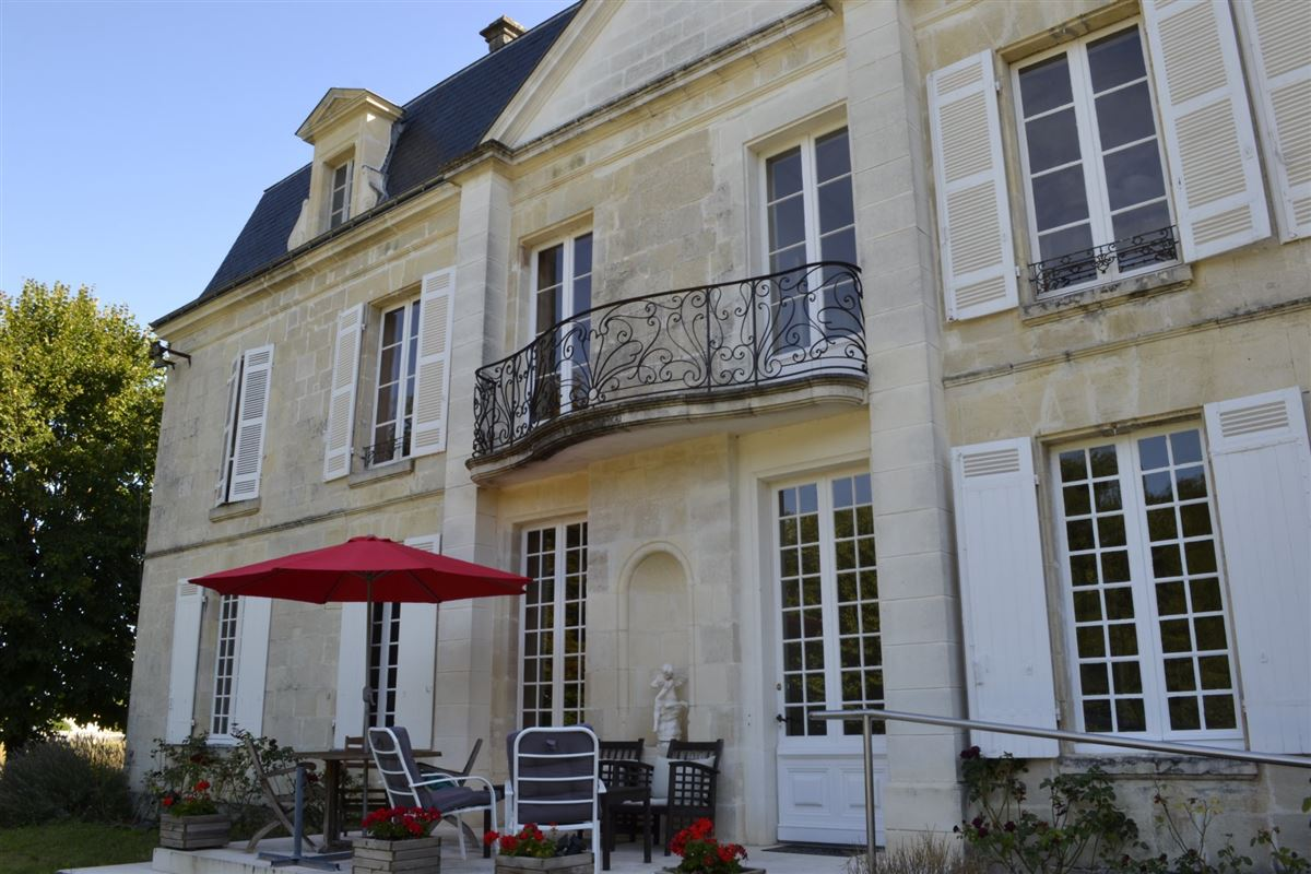 Luxury homes in 18th century chateau