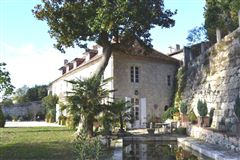Luxury real estate 18TH-C LISTED MANSION - OUTBUILDINGS, POOL