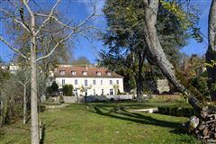 18TH-C LISTED MANSION - OUTBUILDINGS, POOL luxury real estate