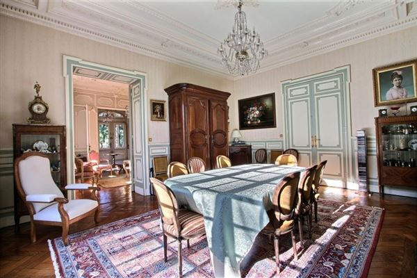 Luxury real estate elegant manor house