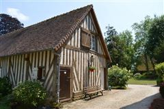 Luxury real estate LISTED MANOR HOUSE 13-18TH CENTURY - NORMANDY