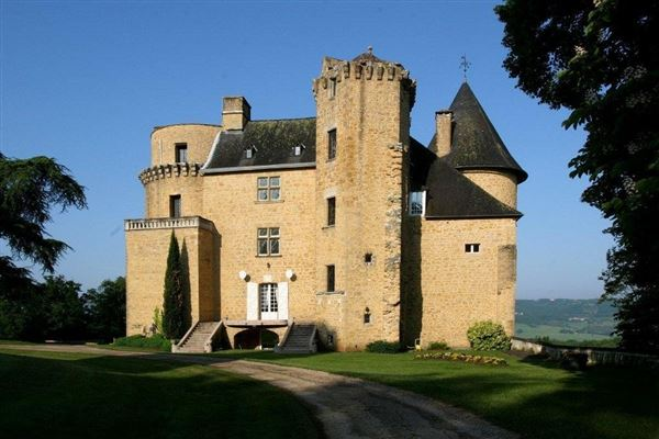 Mansions  15th century Castle for sale