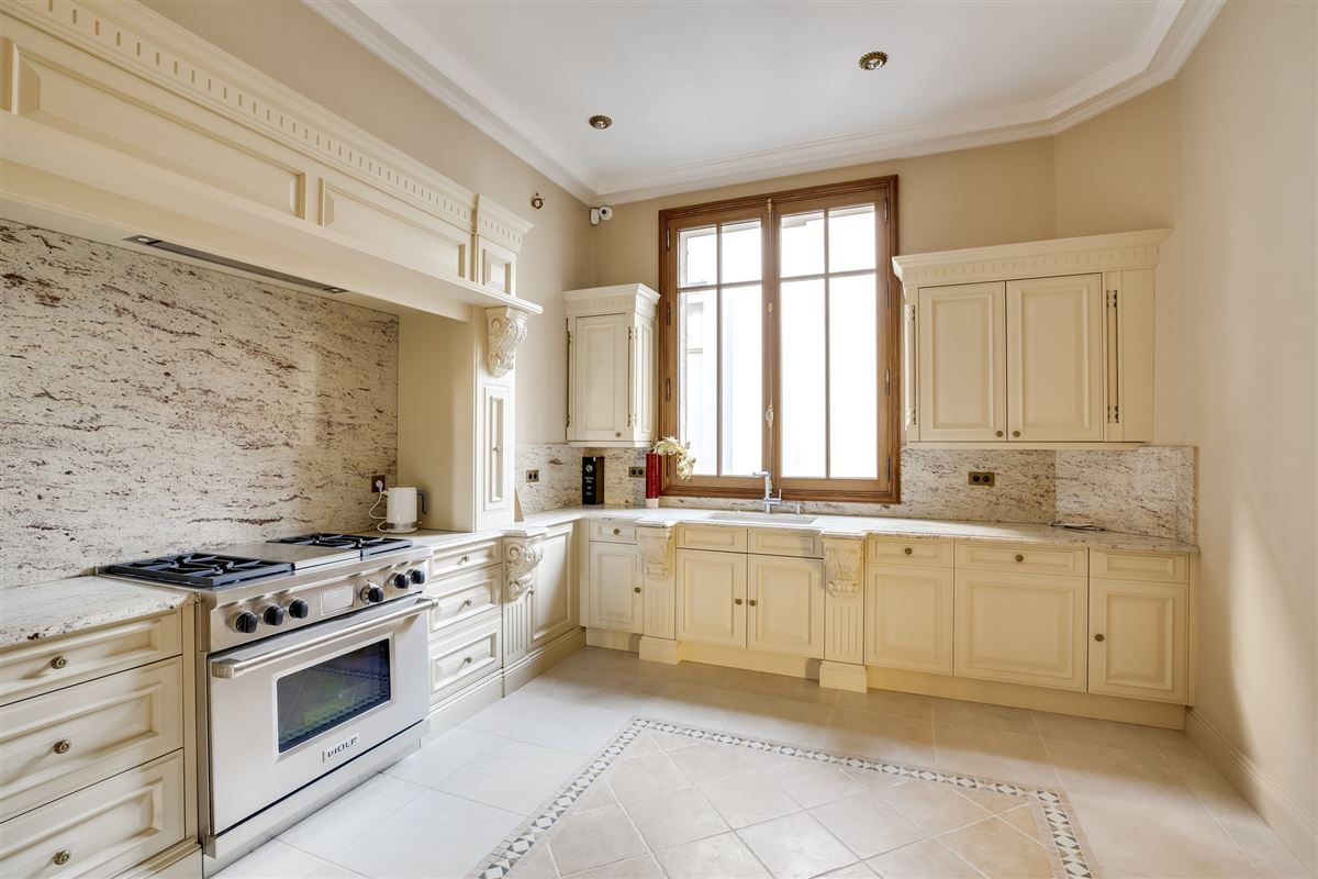 Luxury properties elegant Haussmanian building,