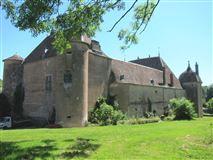 Mansions in Renaissance-style castle