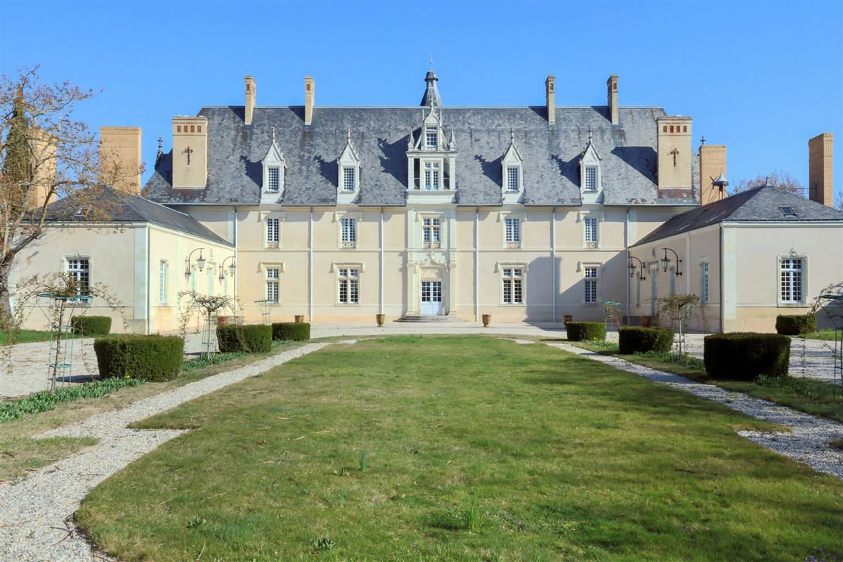 Luxury properties renovated and furnished château