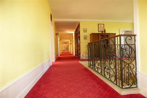 Mansions in elegant house