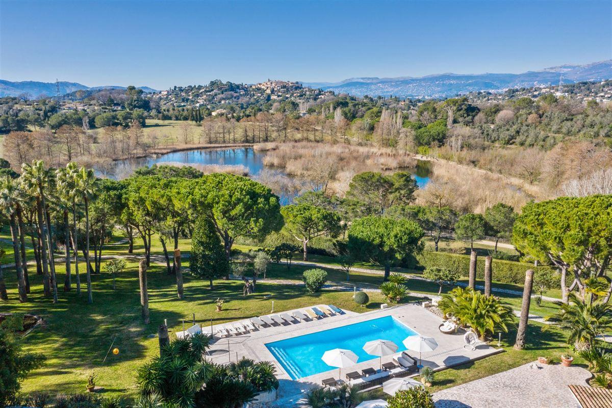 Panoramic village views luxury properties