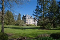 Luxury homes in this beautiful castle has an indoor pool