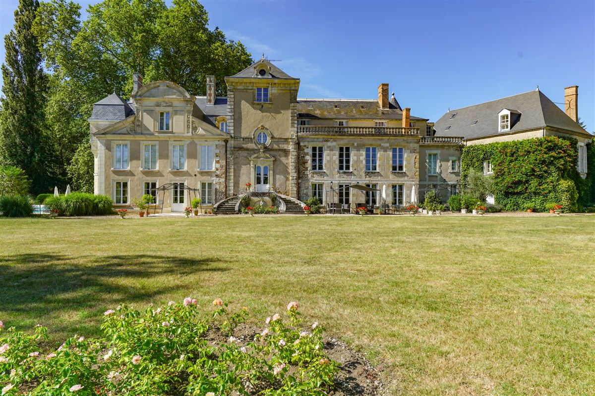 Luxury homes elegant castle on the edge of the Sologne