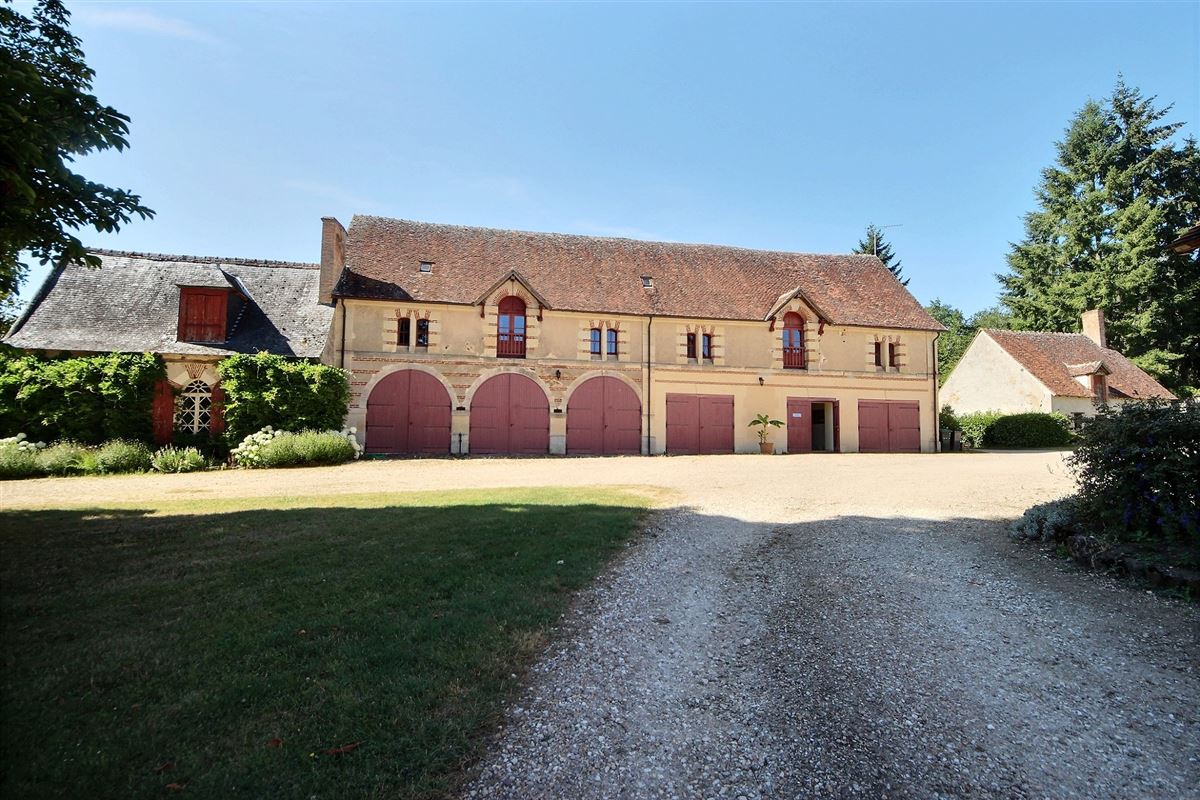 Luxury real estate elegant castle on the edge of the Sologne