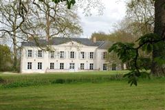 Mansions lovely chateau includes a heated pool