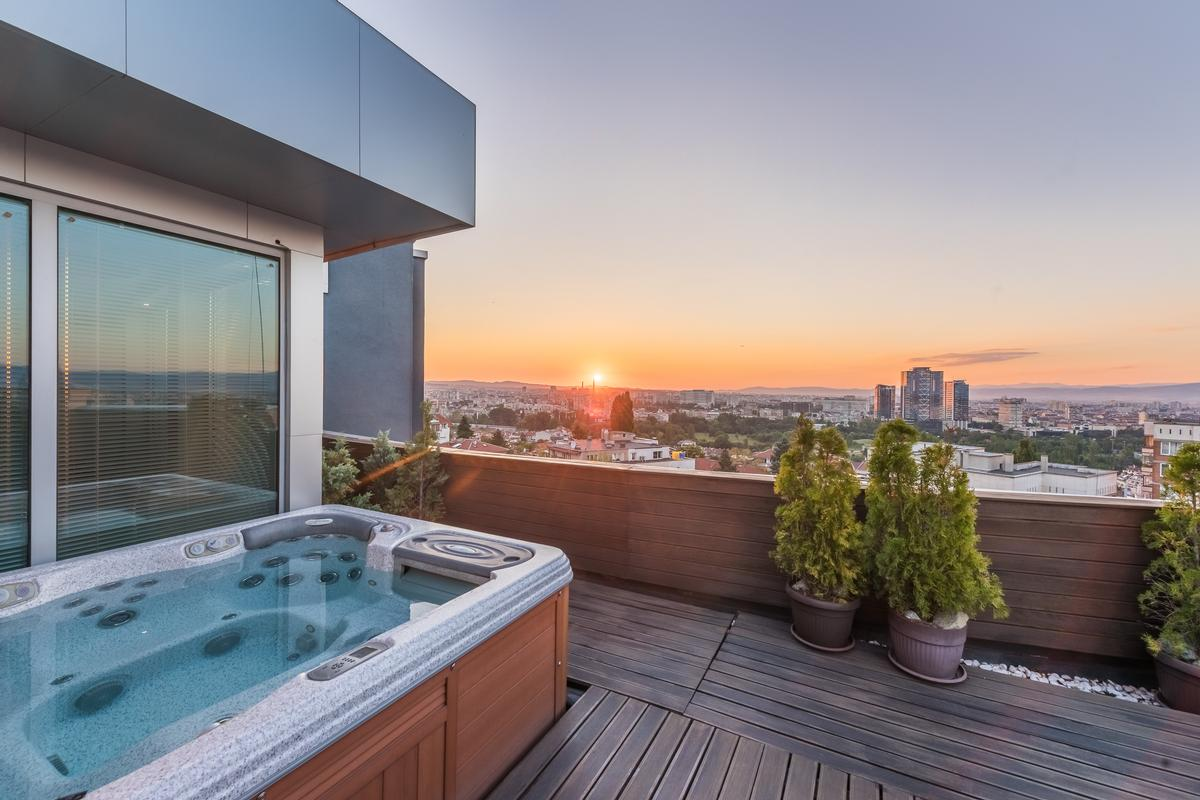An exclusive penthouse with amazing views luxury real estate