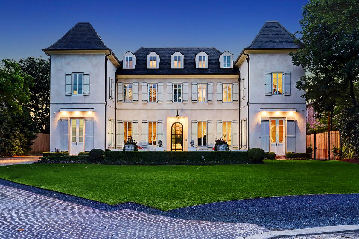 Superior Stately French Traditional Estate