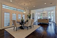 Luxury homes in remodeled home that rivals new construction