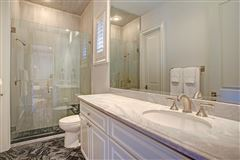 stately English townhome in houston mansions