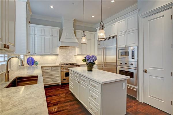 Mansions in stately English townhome in houston