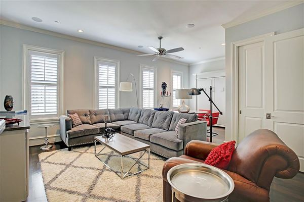Mansions stately English townhome in houston