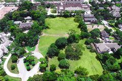 Luxury real estate prime River Oaks building site