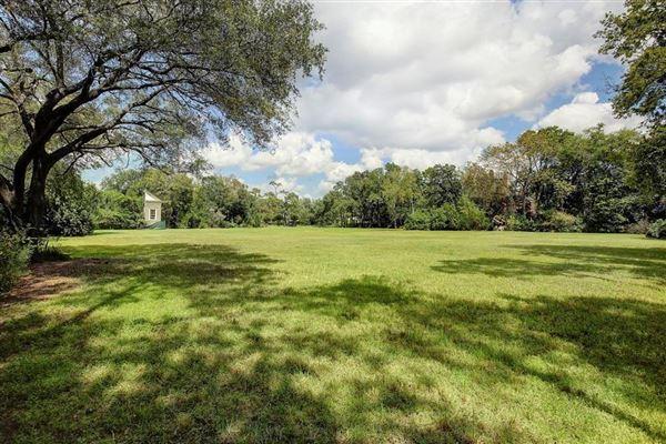 Luxury homes prime River Oaks building site