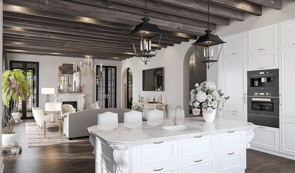 English-inspired manor home luxury homes