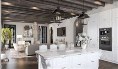 Luxury properties English-inspired manor home