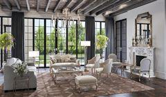 English-inspired manor home luxury properties