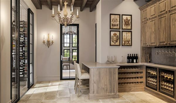 English-inspired manor home luxury real estate