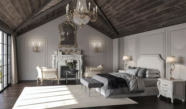 English-inspired manor home mansions