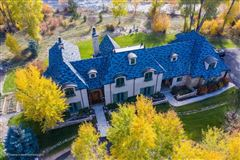 enchanting chateau on the Roarking Fork River luxury properties