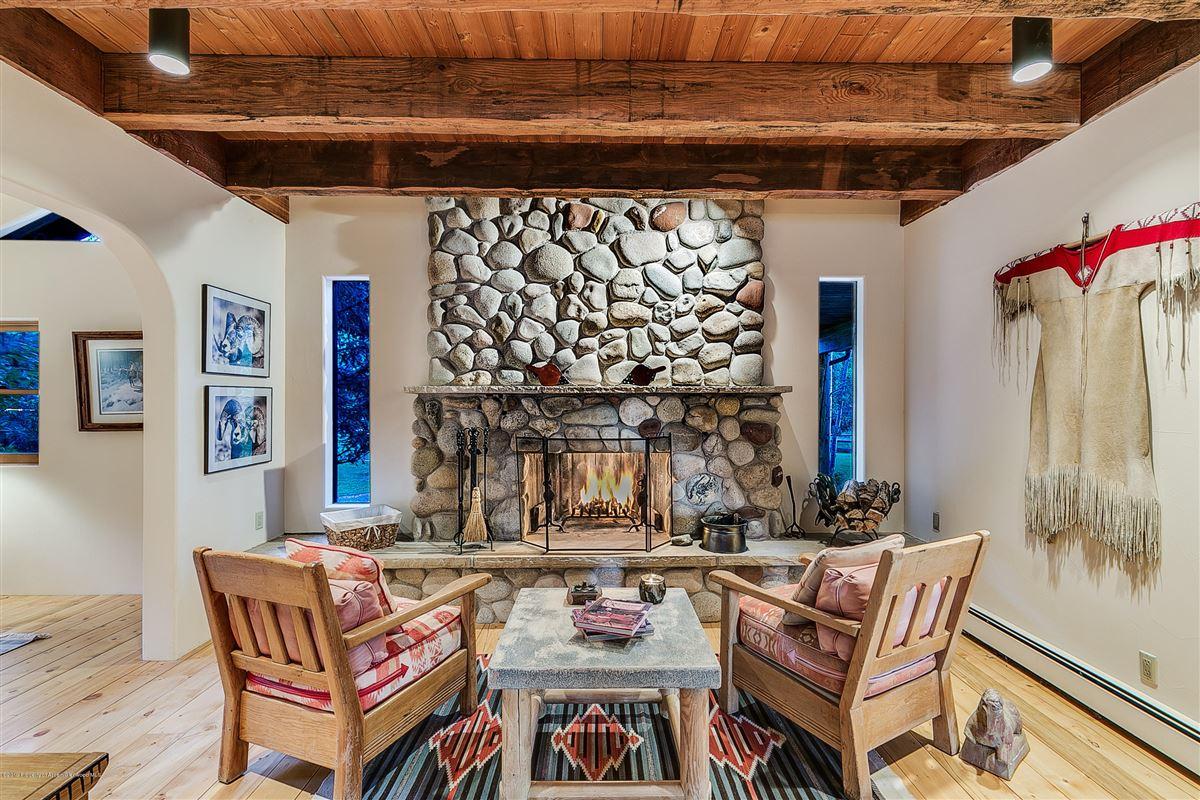 Roaring Fork River Frontage luxury properties