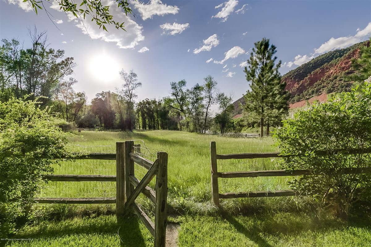 Luxury homes in Roaring Fork River Frontage