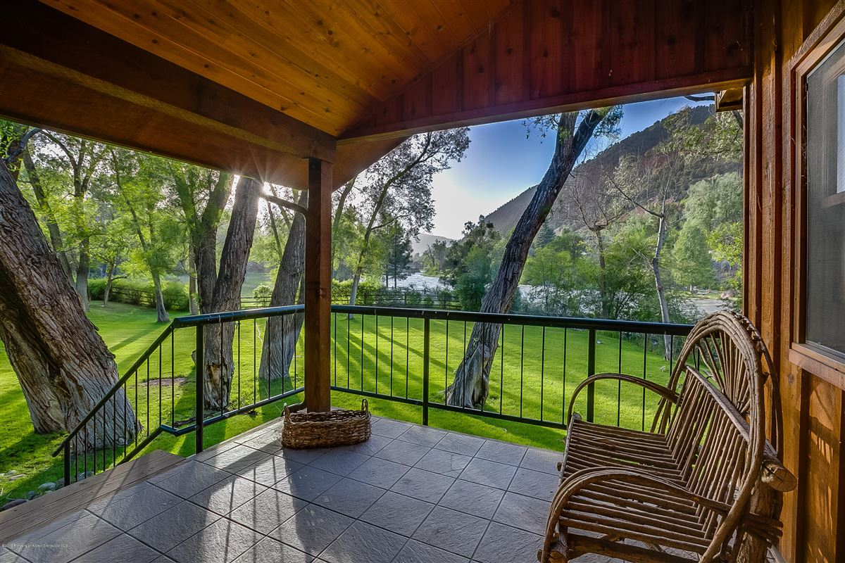 Mansions in Roaring Fork River Frontage