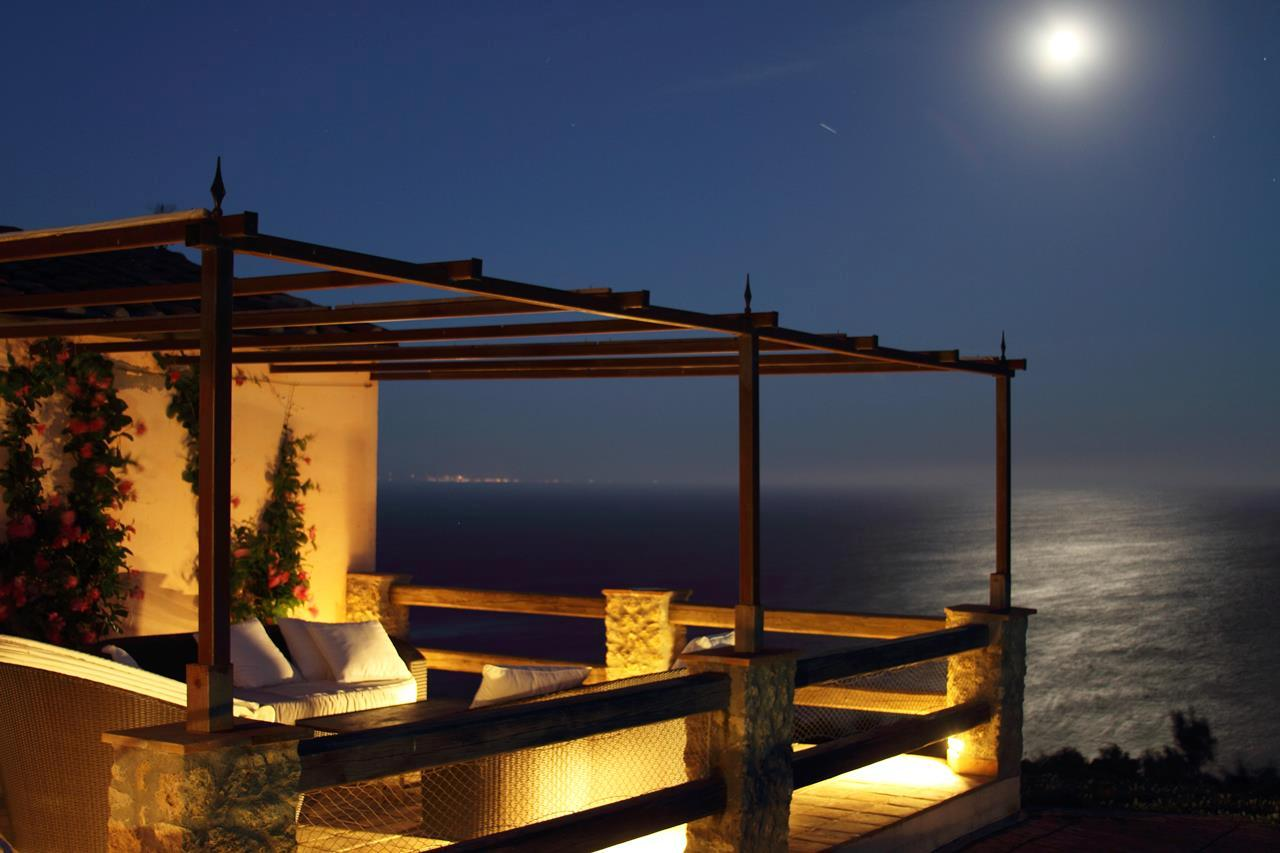 Luxury homes Villa with broad garden and pool overlooking the sea in Argentario