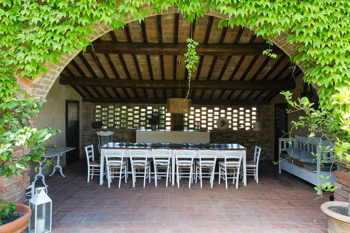 Mansions in Beautiful farmhouse in Val dOrcia - Tuscany