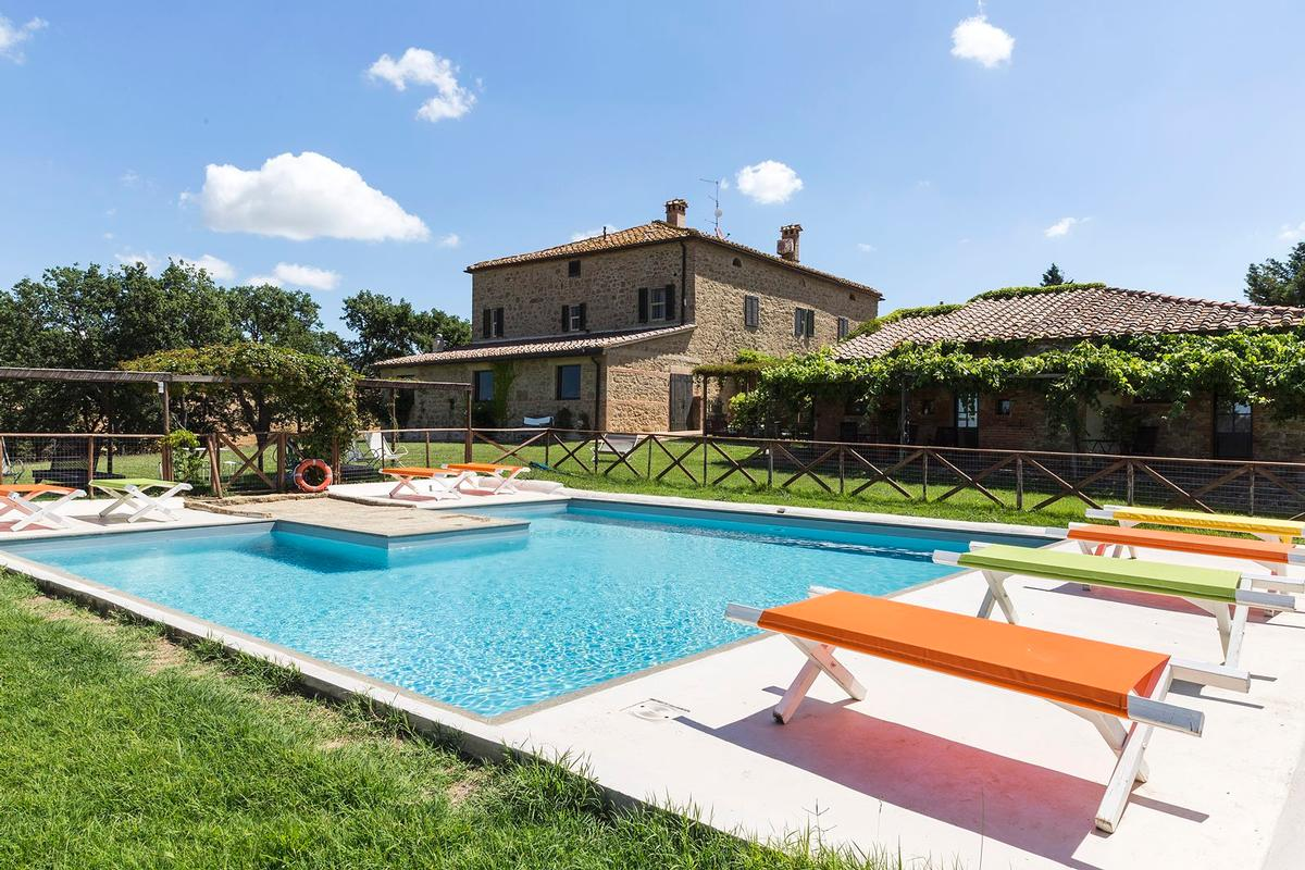 Luxury homes Beautiful farmhouse in Val dOrcia - Tuscany