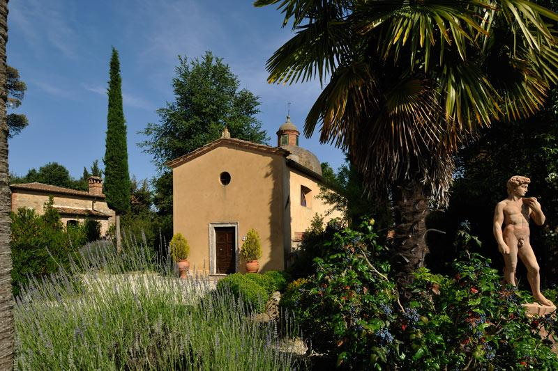 Luxury real estate PRESTIGIOUS HAMLET IN ASCIANO - TUSCANY
